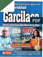 GARCILASO ADMISION 2019