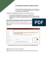 Manual Para Carga y Descarga de Tareas