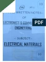 EC 10 Electrical Material