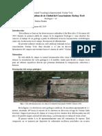 Informe geologico del actual estado de la geologia de imbabura
