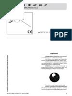 Gefran I Series Manual