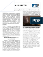 Best Practices in Lightning Protection and Metal Construction