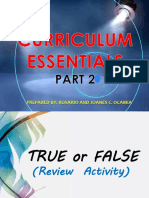 Curriculum Essentials Part 2