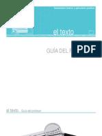 El Texto.guia Del Profesor