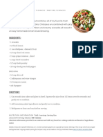 Chickpea Salad - Spend With Pennies