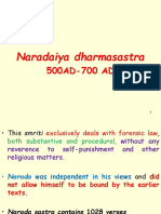 Naradiya Dhama Sastra and Interpretation of Law in Ancient and Medeival India