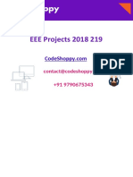 Power Electronics Final Year EEE Projects 2018 2019