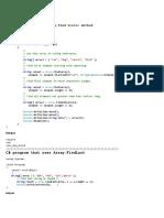 Array Project PDF