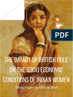 The Impact of British Rule On The Socio Economic Conditions of Indian Women