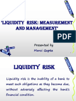 Liquidity Risk-
