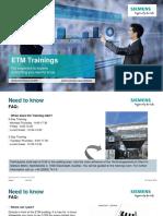 ETM Training En