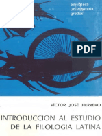 Herrero Victor Jose - Introduccion Al Estudio De La Filologia Latina.pdf