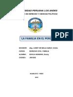 La Familia en El Peru