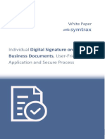 Digital Signature on SAP Documents