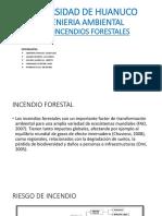 TELEDETECION - INCENDIOS FORESTALES