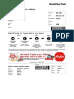 Air Asia ticket lama