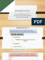 DEMENCIAS PPT