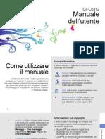 Samsung C6112 Manuale Italiano