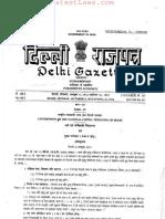 Delhi Registration of Births and Deaths (Amendment) Rules, 2012