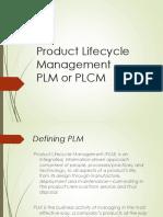 PLM Chapter 1
