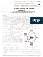 Distributed Control Systems in Food Processing