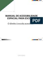 Manual de Acessibilidade Espacial Para a Escola