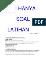 SOAL PPPK GURU  KELAS (SD).docx