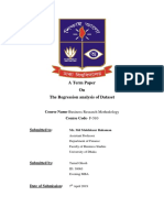 Report of Business Research Methodology