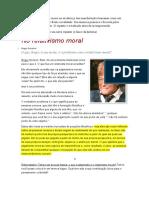Relativismo Scruton - Glaucio