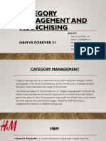 Category management and customer service