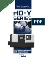 Hyundai Wia Y axis Turnmill HD Series