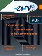 Revista, Avances en las comunicaciones.pptx