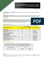 100 Penetration Grade Bitumen