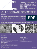 17 | Harvard GSD. Mexican city initiatives. 2017 Fellows Presentation. | USA