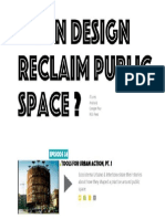 17 | Can design reclaim public space?. Curry Stone Prize | USA