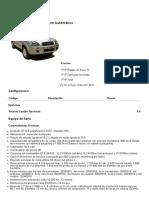 Configuración Hyundai Tucson 2.7 V6 Style Automático