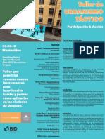 18 | Taller urbanismo táctico. Participación y acción | Uruguay