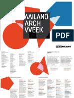 18 | Milano ArchWeek. Yes Milano | Italy
