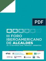 18 | III Foro Iberoamericano de Alcaldes | Argentina