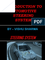 Steering system ppt