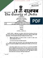 Indian Railways (Open Lines) General ( Amendment) Rules, 2011