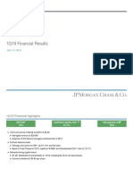 JPM Earnings Pres Q1 2019