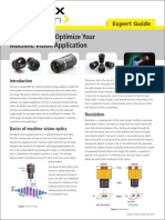 Expert Guide- Using Optics to Optimize Your Machine Vision Application
