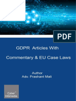 GDPR Articles With Commentary & EU Case Laws.pdf
