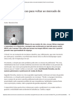Dicas Para Voltar Ao Mercado de Trabalho _ Portal Carreira & Sucesso