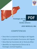 Fisiologia Del Higado y Vesicula Biliar Dr. Merello