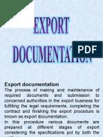Export Docmnts
