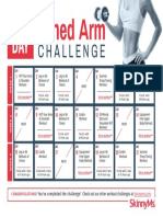 21 Day Toned Arm Challenge - SkinnyMs.