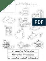 Alimentos Envasados y Naturales