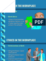 Ethics in the Workplace My Net Search
